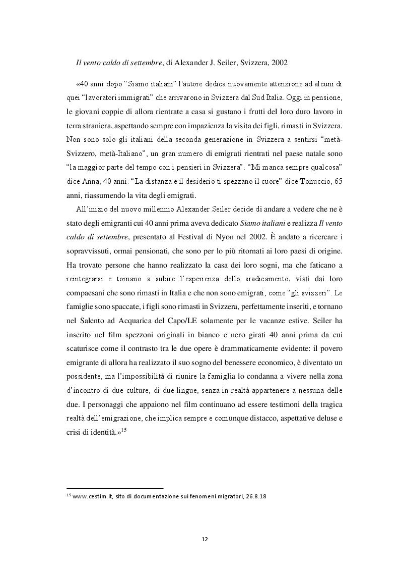 Estratto dalla tesi: Italiana, Svizzera, Italo-svizzera Un'analisi della cittadinanza della comunità di emigranti italiani attraverso i registri di cittadinanza del Consolato Generale d'Italia di Zurigo (1975 - 2015)