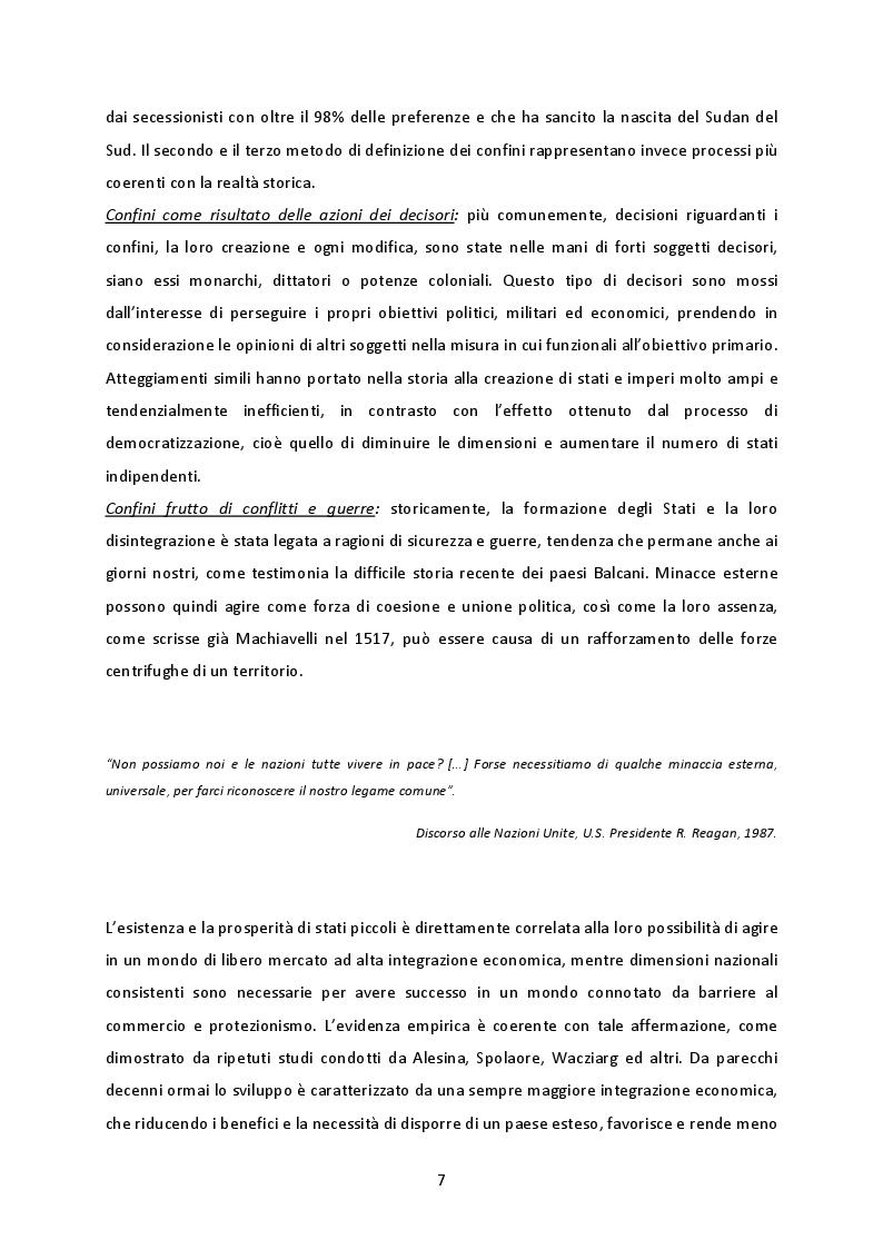 Anteprima della tesi: La cooperazione transnazionale sulle Alpi. Analisi delle esperienze e futuro sviluppo macroregionale., Pagina 6
