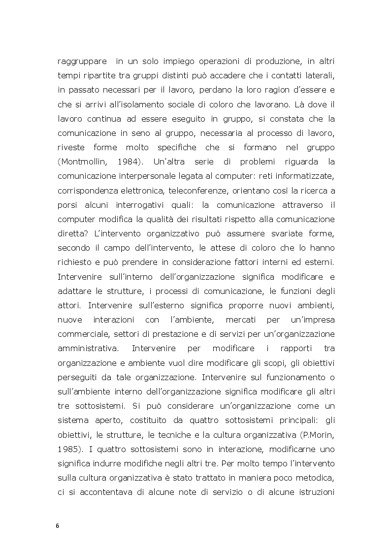 Anteprima della tesi: Il modello di valutazione dei rischi psicosociali (VARP) come risposta allo stress lavoro-correlato: un caso applicativo, Pagina 4