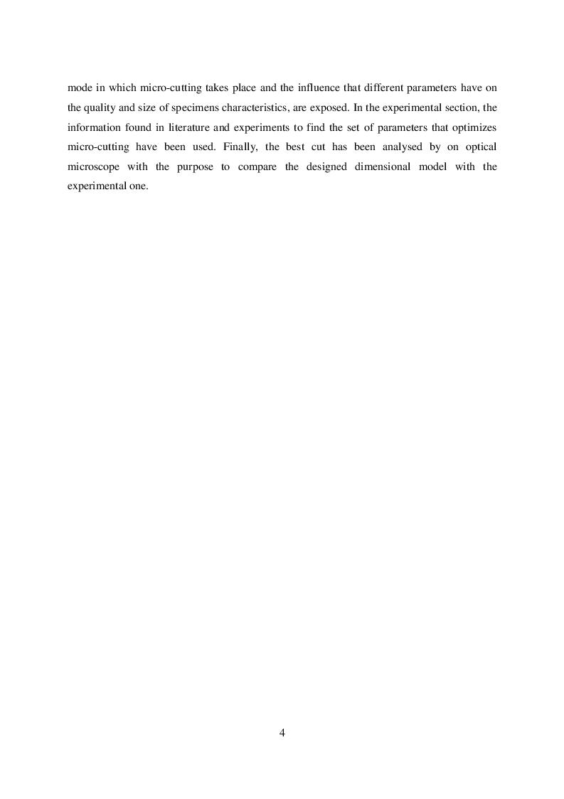 Anteprima della tesi: Microtaglio di lamiere sottili con laser al femtosecondo, Pagina 5