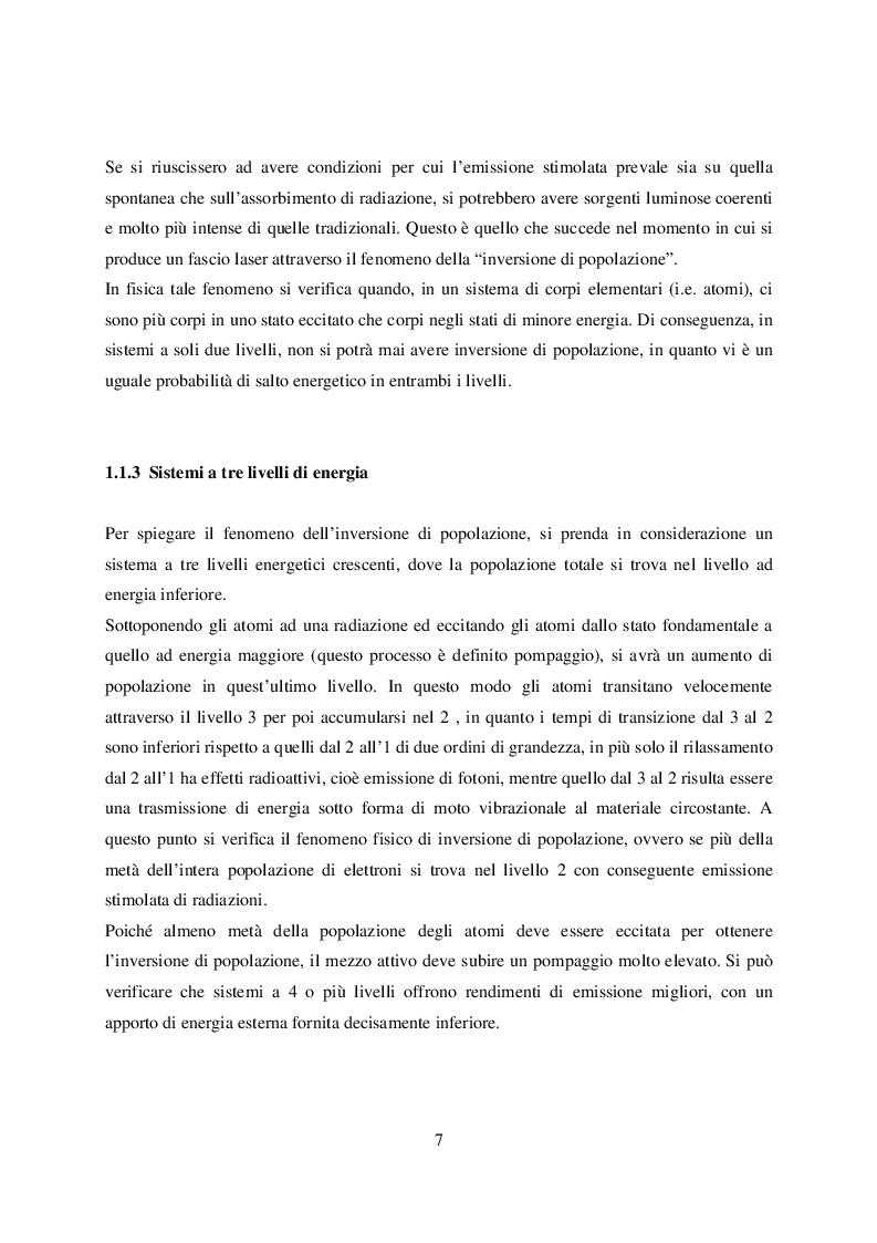 Anteprima della tesi: Microtaglio di lamiere sottili con laser al femtosecondo, Pagina 8