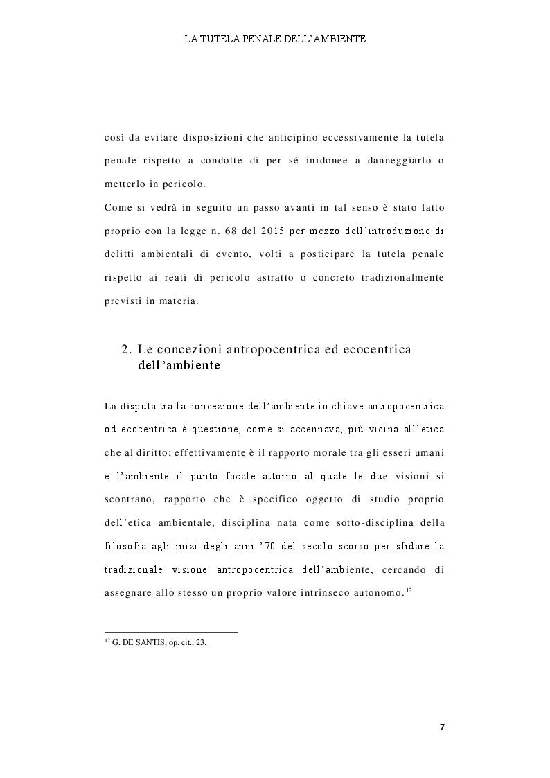 Anteprima della tesi: Il delitto di inquinamento ambientale, Pagina 8
