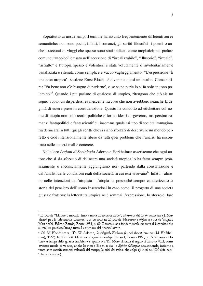 Estratto dalla tesi: Ernst Bloch: Musica e Ontologia del non-ancora