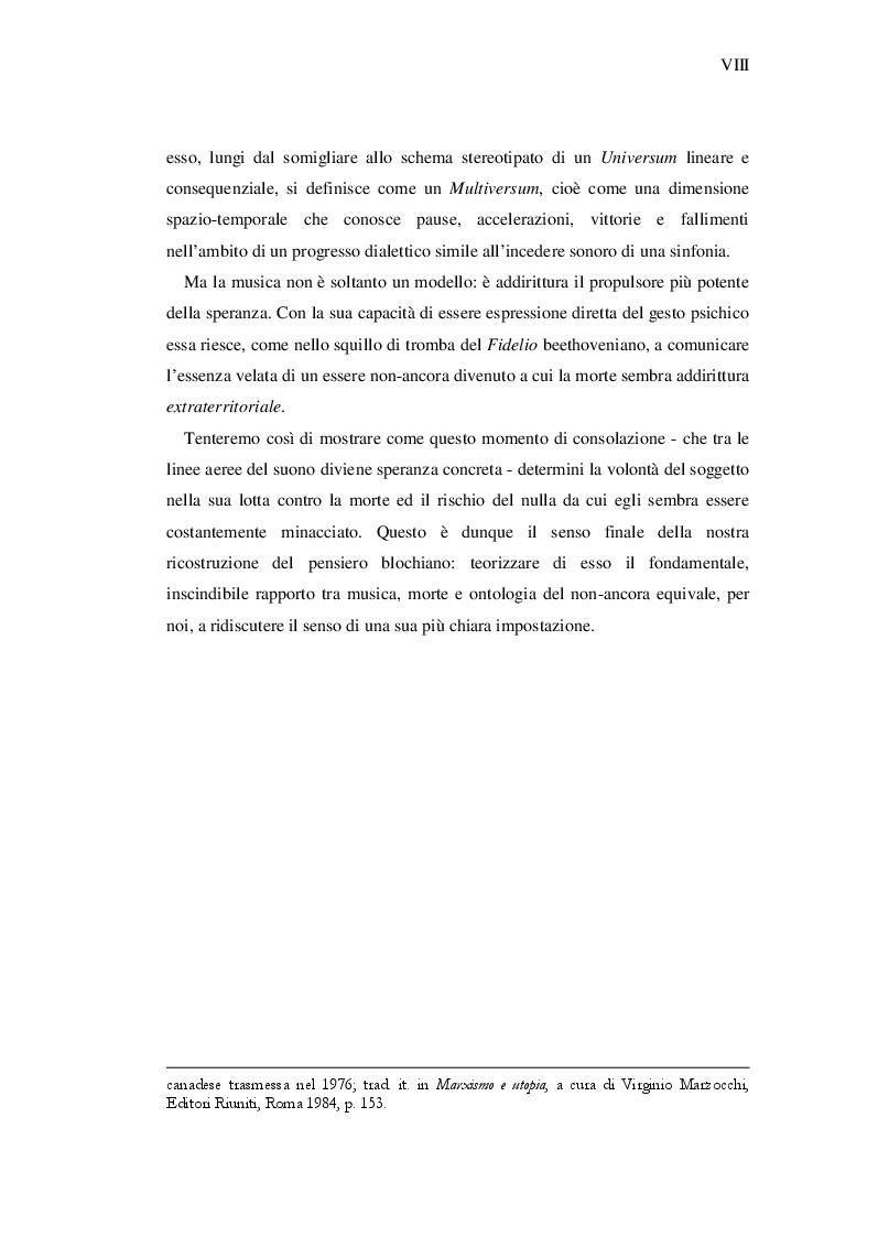 Anteprima della tesi: Ernst Bloch: Musica e Ontologia del non-ancora, Pagina 6