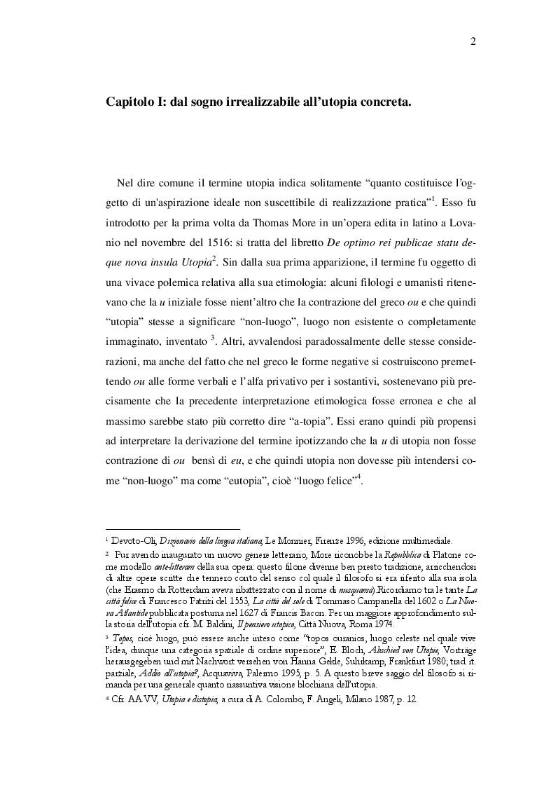 Anteprima della tesi: Ernst Bloch: Musica e Ontologia del non-ancora, Pagina 7
