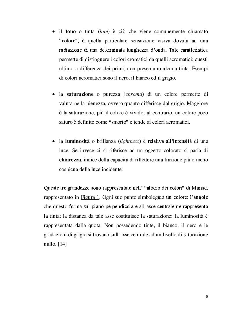 Anteprima della tesi: Misure colorimetriche tramite un apparato in fibra ottica, Pagina 5