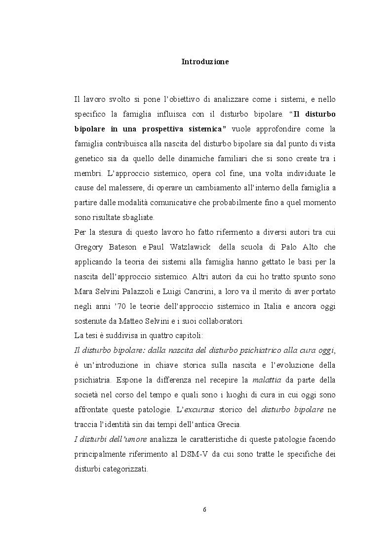 Anteprima della tesi: Il disturbo bipolare in una prospettiva sistemica, Pagina 2