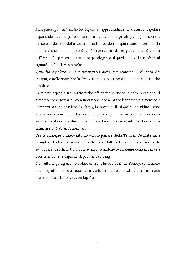 Anteprima della tesi: Il disturbo bipolare in una prospettiva sistemica, Pagina 3