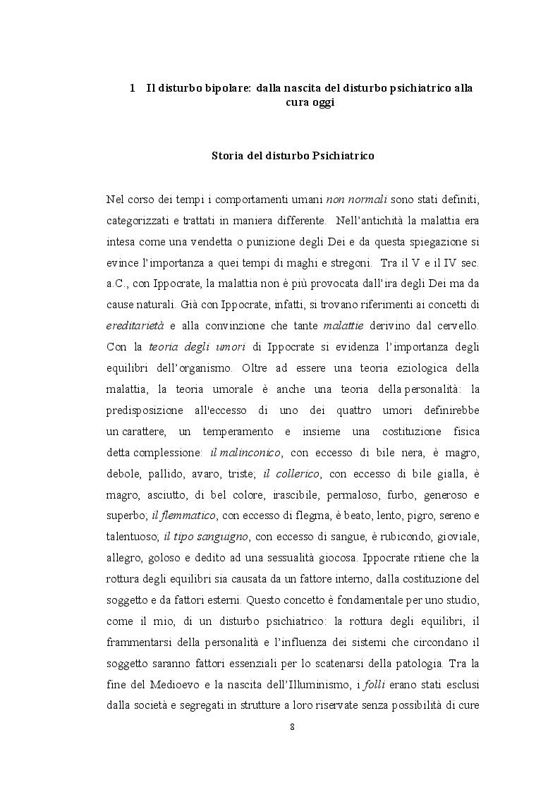 Anteprima della tesi: Il disturbo bipolare in una prospettiva sistemica, Pagina 4