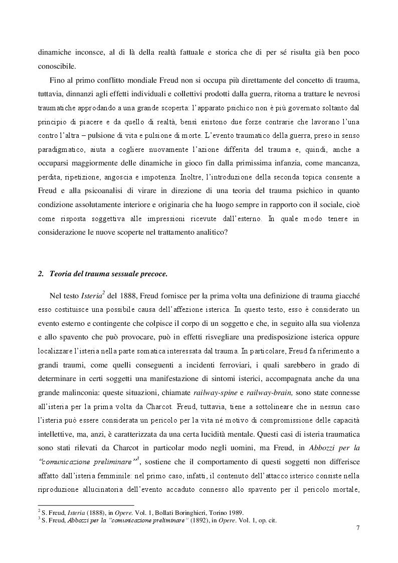 Anteprima della tesi: Traum(a), Pagina 5