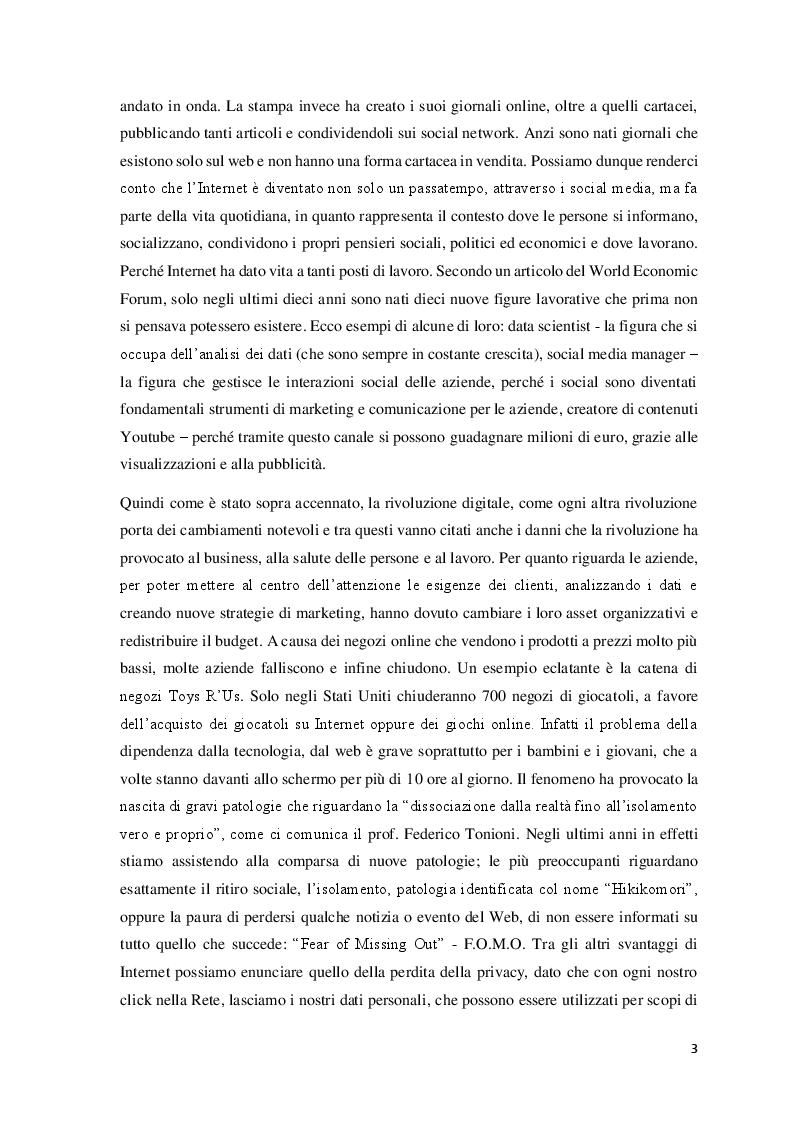 Anteprima della tesi: Data Mining per le Scienze Politiche: l'uso di Twitter, Pagina 4