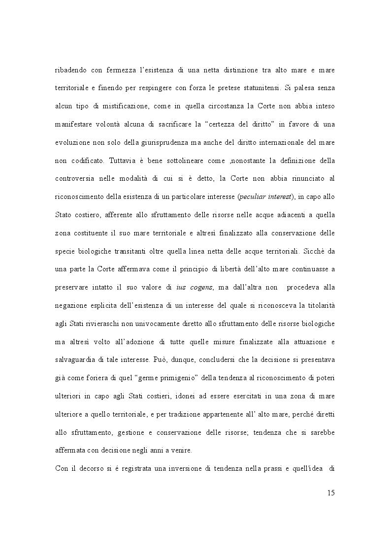 Anteprima della tesi: Il caso Marò ed il Diritto Internazionale del mare, Pagina 10