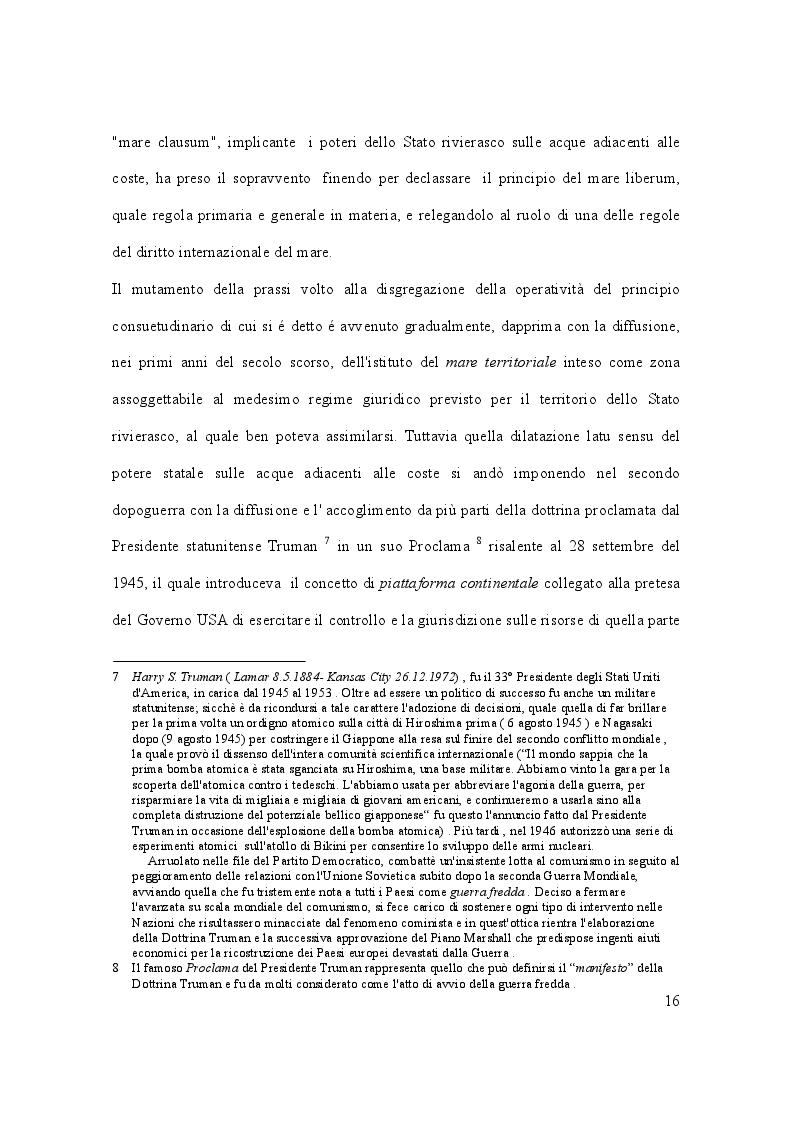 Anteprima della tesi: Il caso Marò ed il Diritto Internazionale del mare, Pagina 11