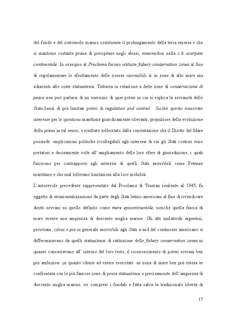 Anteprima della tesi: Il caso Marò ed il Diritto Internazionale del mare, Pagina 12