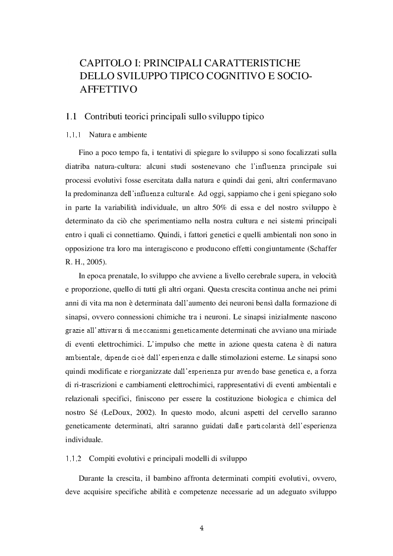 Anteprima della tesi: Una valutazione globale dello sviluppo personale, sociale ed emotivo dei bambini prematuri attraverso le Scale Griffiths III, Pagina 5