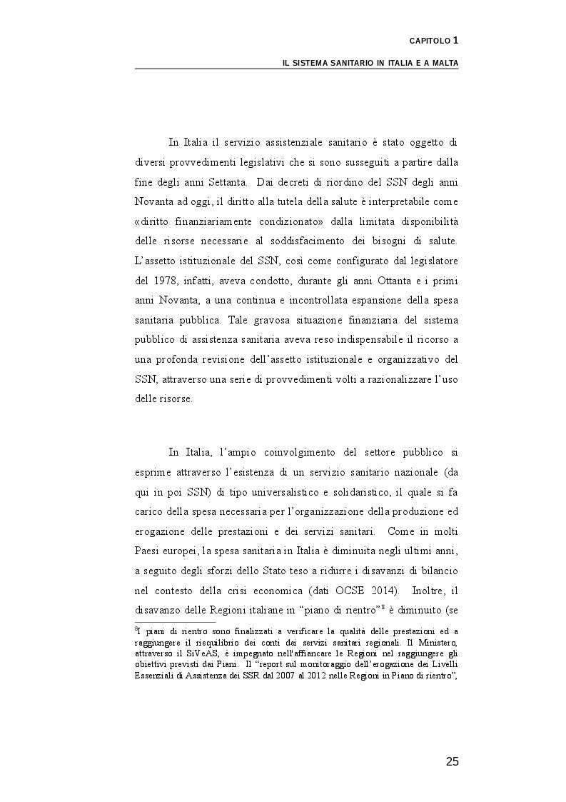 Estratto dalla tesi: Il ruolo dei medici di medicina generale e pediatri di libera scelta nel sistema sanitario italiano e nel servizio sanitario maltese. Modelli organizzativi e profili evolutivi.