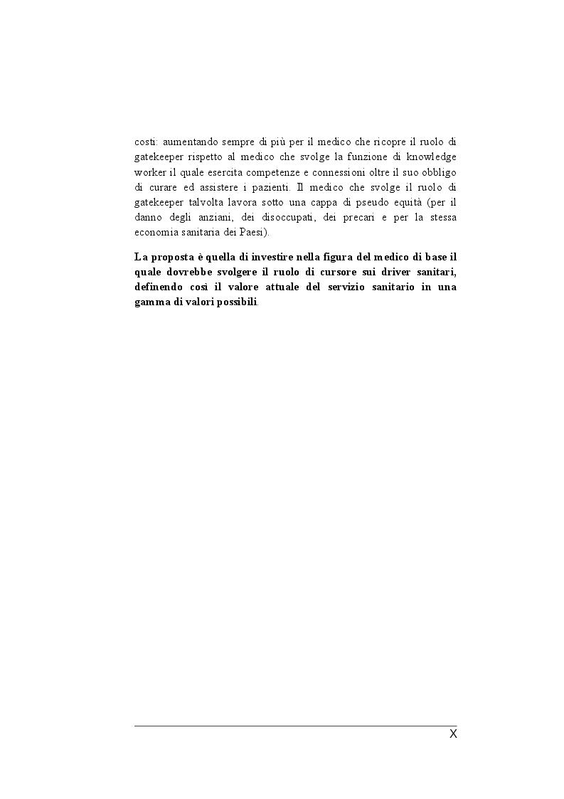 Anteprima della tesi: Il ruolo dei medici di medicina generale e pediatri di libera scelta nel sistema sanitario italiano e nel servizio sanitario maltese. Modelli organizzativi e profili evolutivi., Pagina 3