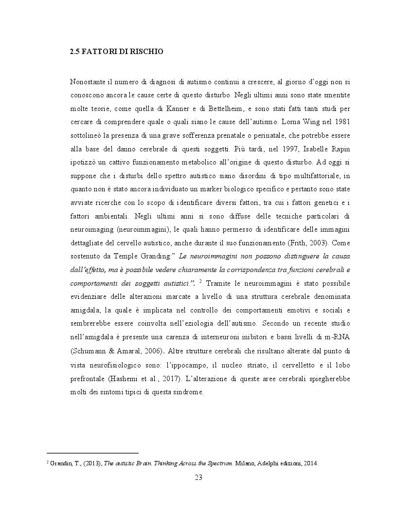 Anteprima della tesi: Il ruolo dell'attività fisica nel miglioramento delle abilità sociali nei soggetti autistici, Pagina 4