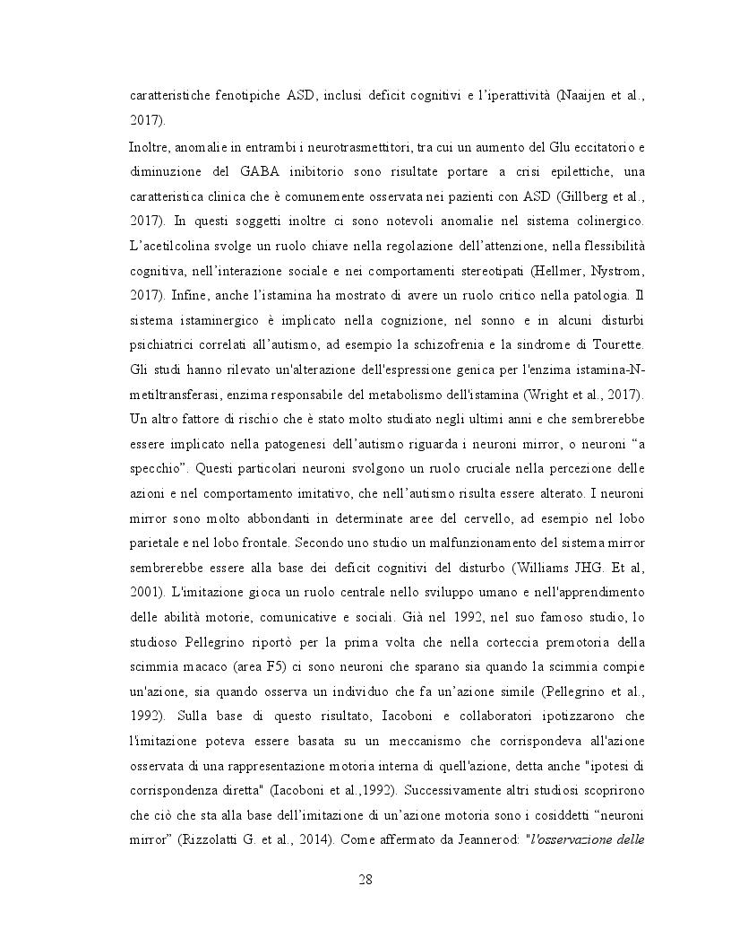 Anteprima della tesi: Il ruolo dell'attività fisica nel miglioramento delle abilità sociali nei soggetti autistici, Pagina 9