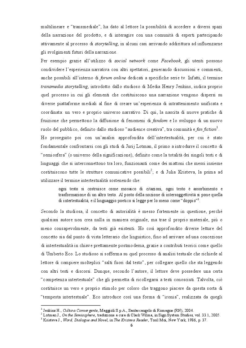 Anteprima della tesi: Tradurre l'intertestualità per il piccolo schermo: il caso Stranger Things, Pagina 3