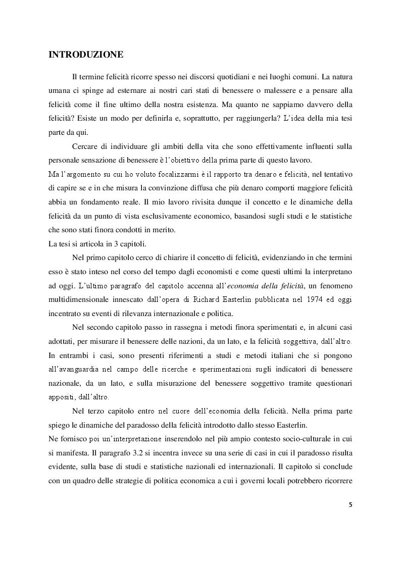 Anteprima della tesi: Economia e felicità: evidenze e paradossi delle società occidentali, Pagina 2