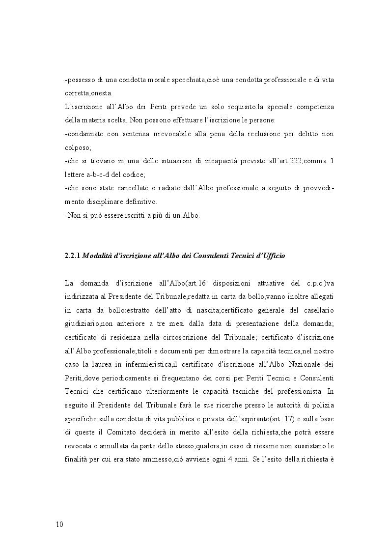 Estratto dalla tesi: La figura del CTU e del CTP. Guida alla Consulenza Tecnica d'Ufficio in sede civile e penale: dall'incarico alla perizia