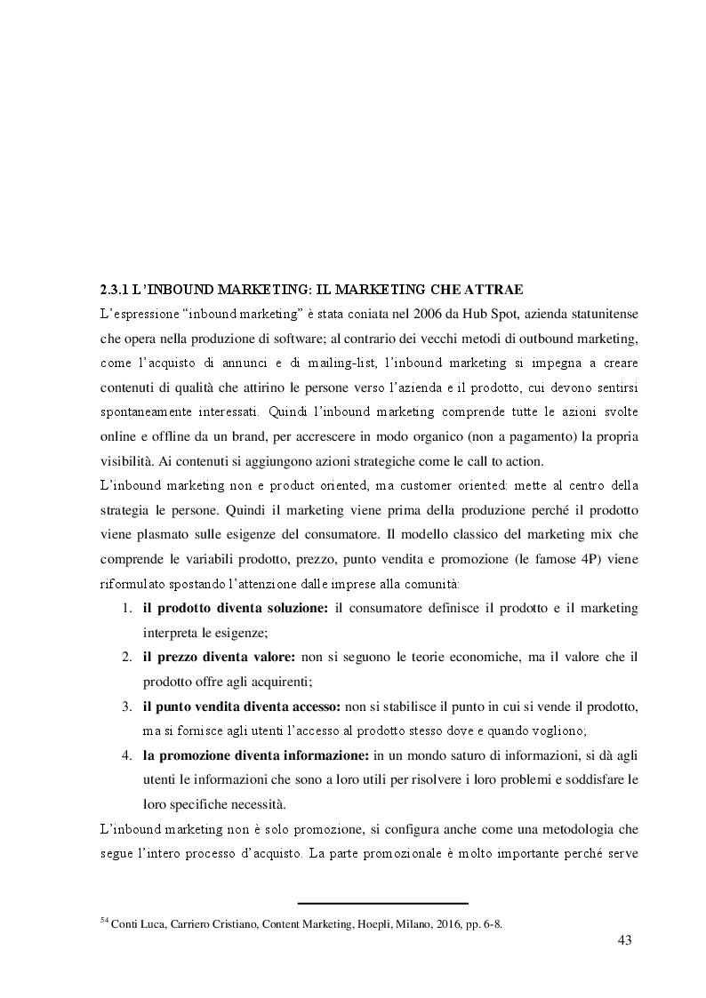 Anteprima della tesi: La comunicazione di marketing: dalla pubblicità tradizionale ai social network. Il caso Nutella, Pagina 2
