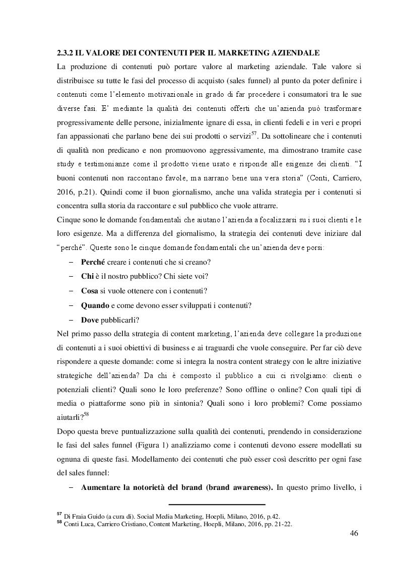 Anteprima della tesi: La comunicazione di marketing: dalla pubblicità tradizionale ai social network. Il caso Nutella, Pagina 5