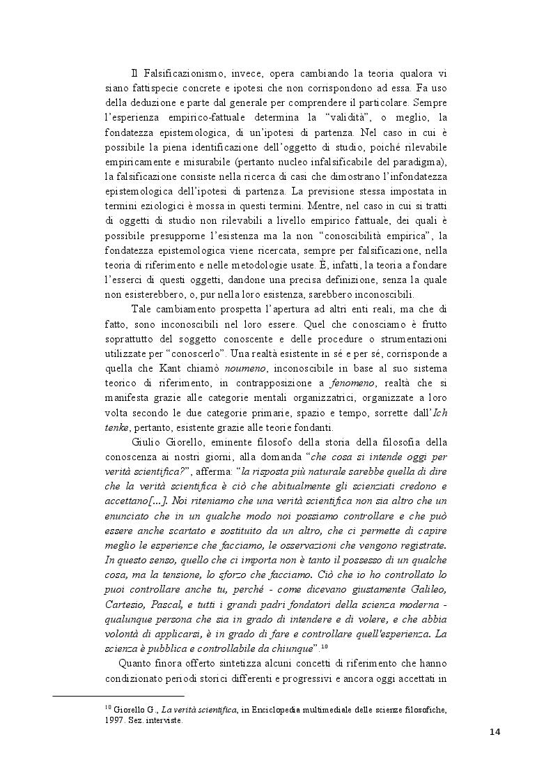Anteprima della tesi: Analisi epistemologica dei fondamenti teorico-metodologici della psichiatria. Dal costrutto senza episteme della ''medicina della mente'' alla fondazione della configurazione discorsiva esemplificata nello studio della Disforia di Genere, Pagina 7