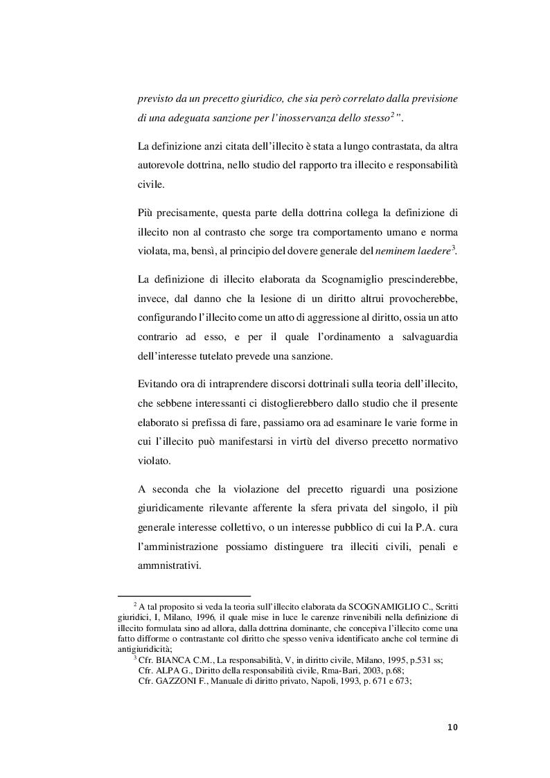 Anteprima della tesi: I rapporti tra sanzioni amministrative tributarie e penali tributarie - La problematica del ''Ne Bis in Idem'', Pagina 4