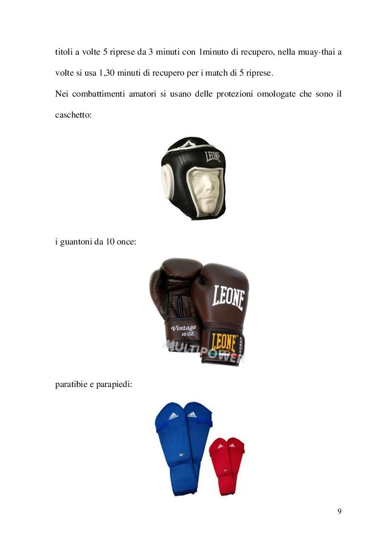 Anteprima della tesi: Metodologia di allenamento per la Kick-boxing e la Muay-thai, Pagina 3