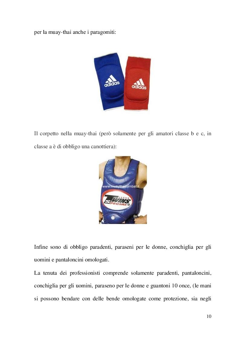 Anteprima della tesi: Metodologia di allenamento per la Kick-boxing e la Muay-thai, Pagina 4