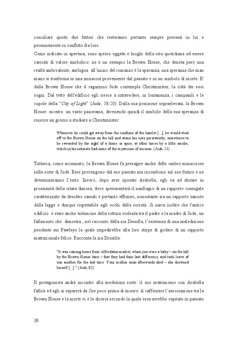 Anteprima della tesi: Geometrie narrative in ''Jude the Obscure'' di Thomas Hardy, Pagina 3