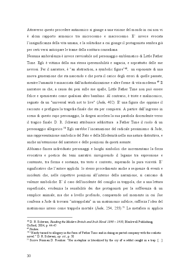 Anteprima della tesi: Geometrie narrative in ''Jude the Obscure'' di Thomas Hardy, Pagina 5