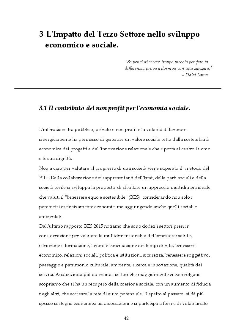 Anteprima della tesi: Il fine unifica i mezzi: Il ruolo del Terzo Settore nel Sistema integrato dei Servizi Sociali, Pagina 2