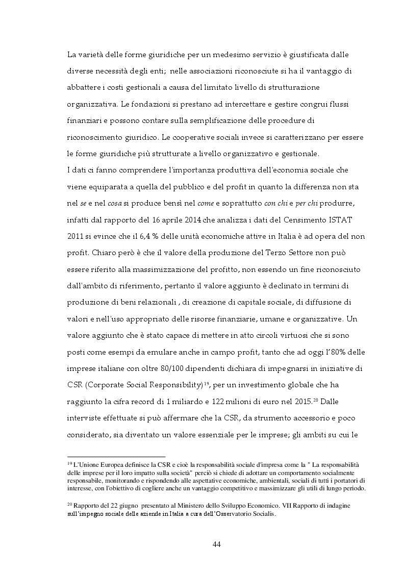 Anteprima della tesi: Il fine unifica i mezzi: Il ruolo del Terzo Settore nel Sistema integrato dei Servizi Sociali, Pagina 4