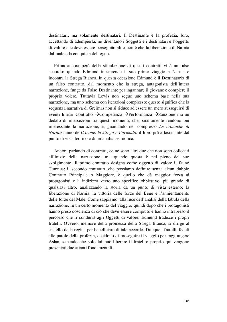 Anteprima della tesi: Ai confini della fiaba - Indagine su Le Cronache di Narnia, Pagina 4