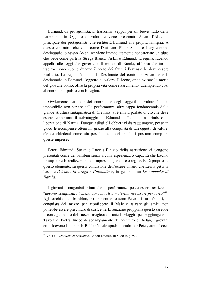 Anteprima della tesi: Ai confini della fiaba - Indagine su Le Cronache di Narnia, Pagina 5