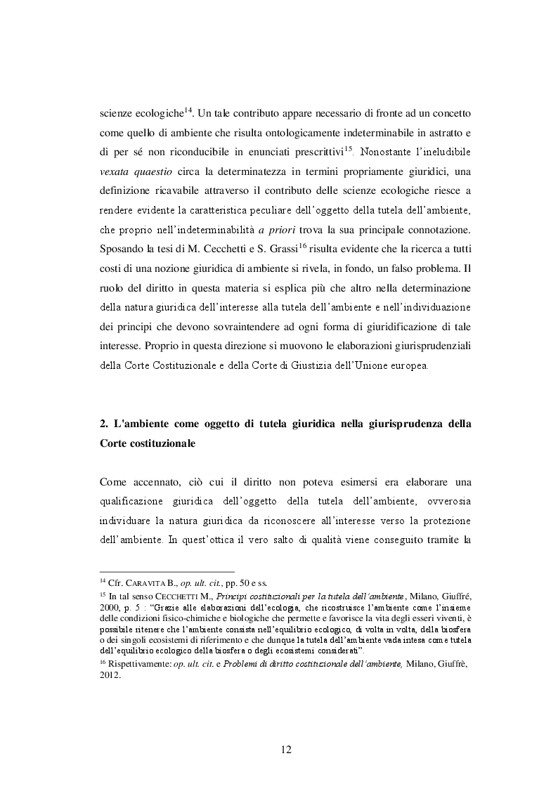 Anteprima della tesi: La responsabilità delle imprese in materia di tutela dell'ambiente, Pagina 9