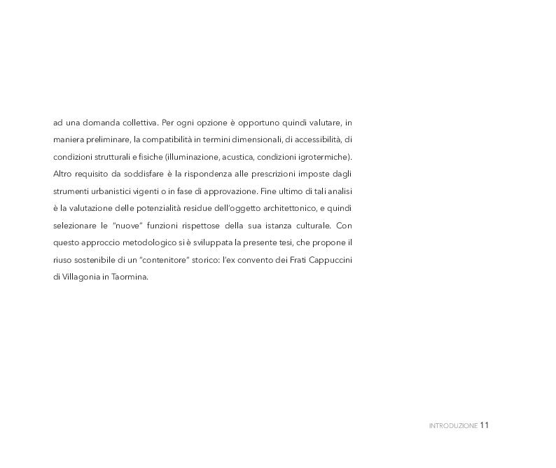 Anteprima della tesi: Un restauro ''accogliente''. Una proposta per Villagonia (ME), Pagina 11