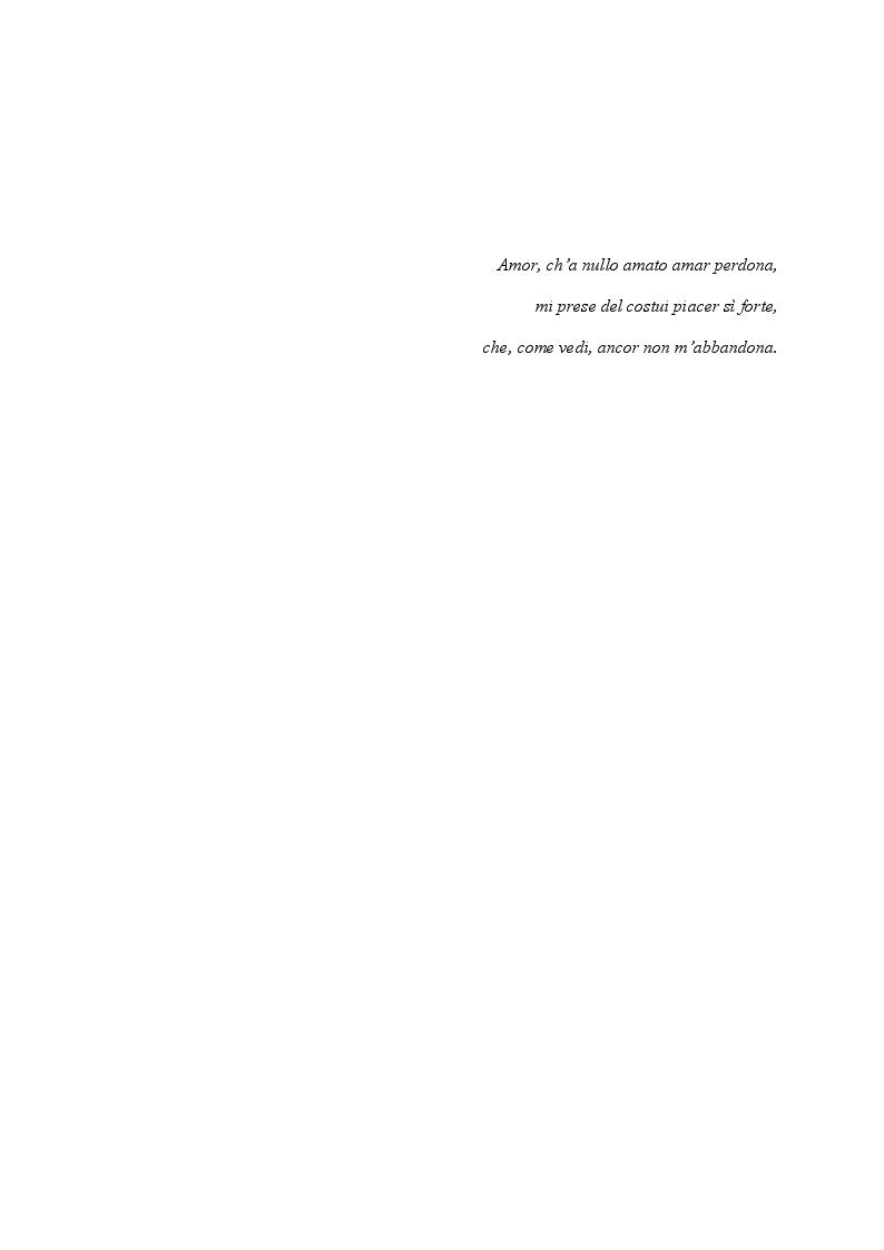 Anteprima della tesi: Francesca da Rimini, Pagina 9