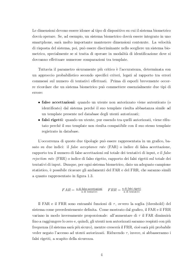 Estratto dalla tesi: Classificazione di volti mediante sistemi biometrici multimodali
