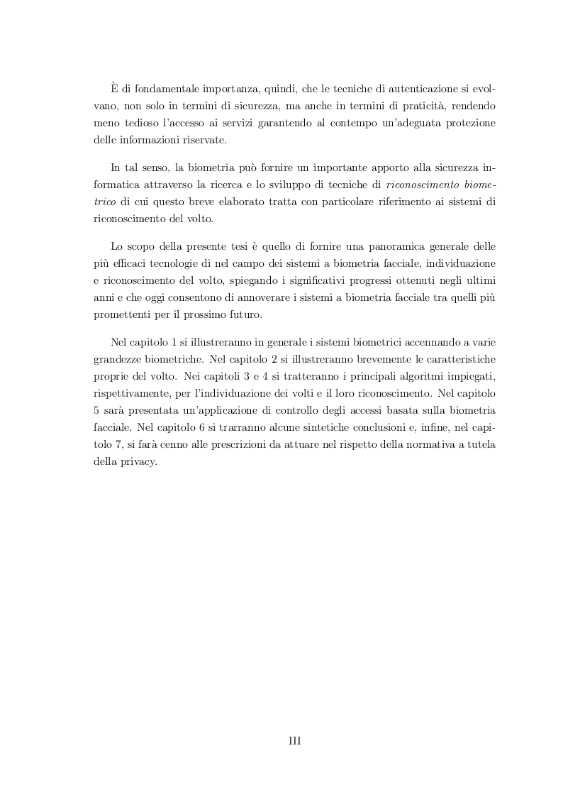 Anteprima della tesi: Classificazione di volti mediante sistemi biometrici multimodali, Pagina 4