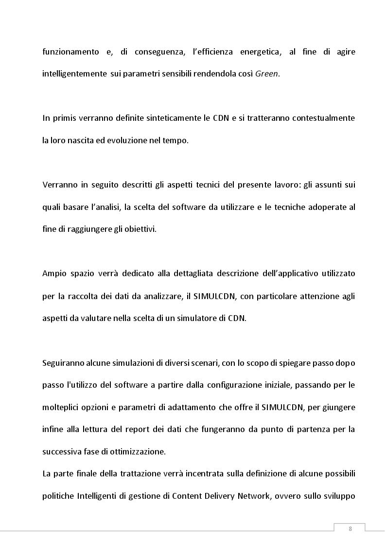 Anteprima della tesi: Definizione di una politica di gestione di Green Content Delivery Network (CDN), Pagina 4