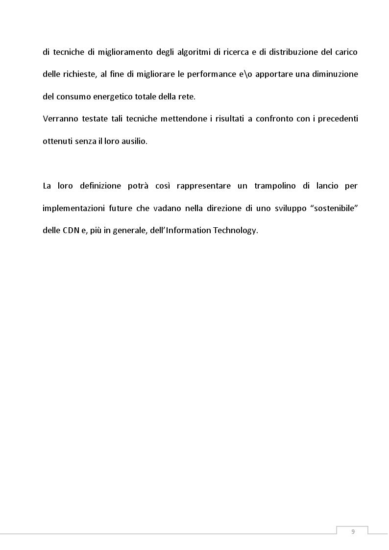 Anteprima della tesi: Definizione di una politica di gestione di Green Content Delivery Network (CDN), Pagina 5