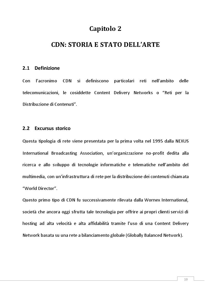 Anteprima della tesi: Definizione di una politica di gestione di Green Content Delivery Network (CDN), Pagina 6