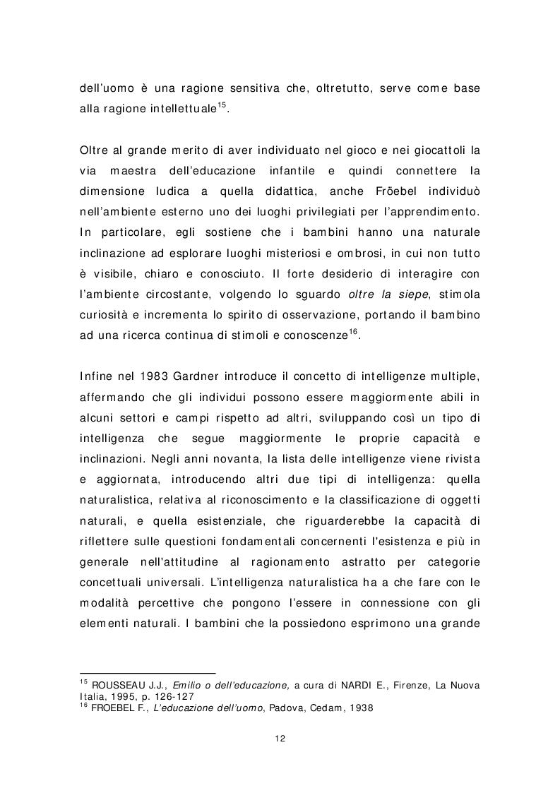 Anteprima della tesi: Dai banchi ai campi. L'Outdoor Education come esperienza educativa e pratica didattica, Pagina 4