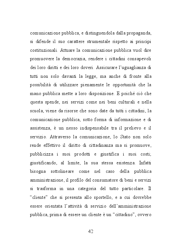 Anteprima della tesi: Trame burocratiche. Luci ed ombre dei testi amministrativi, Pagina 10