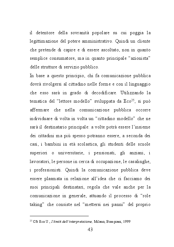 Anteprima della tesi: Trame burocratiche. Luci ed ombre dei testi amministrativi, Pagina 11