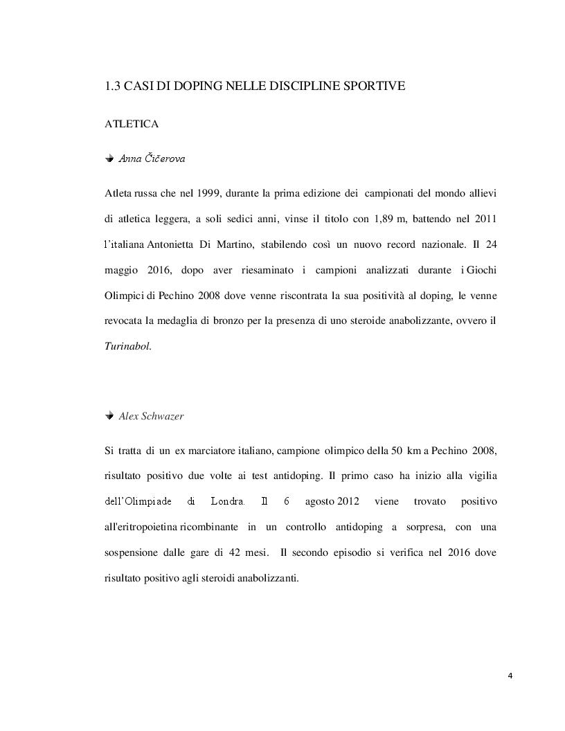 Anteprima della tesi: Doping ed eritropoietina: effetti sull'organismo e rivelazione nei liquidi biologici, Pagina 4